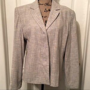 🌟EUC Larry Levine Suits Bouclé Jacket Size: 14